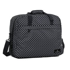 Сумка дорожная Members Essential On-Board Travel Bag 40 Black Polka