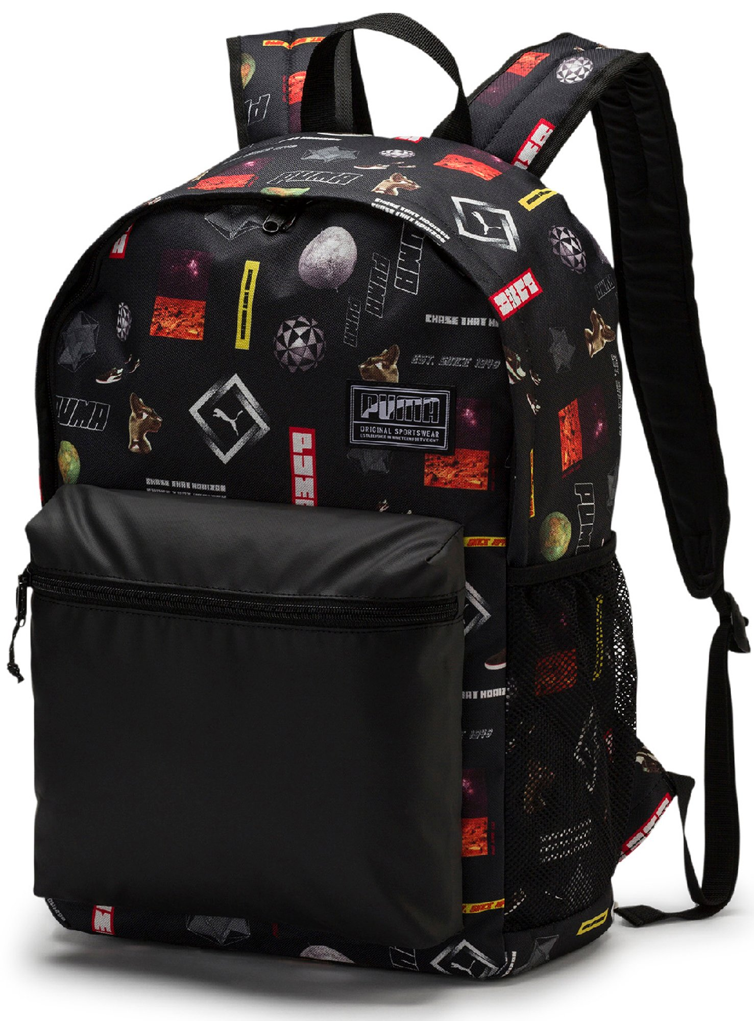 d413bb8b78d4 Рюкзак Puma Academy Универсальный и функциональный рюкзак Academy от PUMA  привлекает внимание ярким дизайном. ФУНКЦИОНАЛЬНОСТЬ Предусмотрено основное  ...