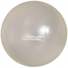 Фитбол с насосом LiveUp ANTI-BURST, LS3222-75g, Серый, 75 см