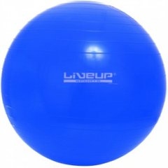 Фитбол LiveUp GYM BALL, LS3221-65b, Синий, 65 см